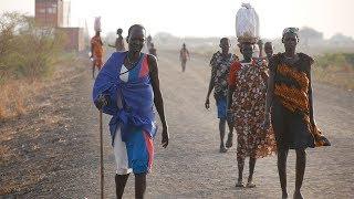 気温45度・戦闘・レイプ…命がけの薪拾い 南スーダン