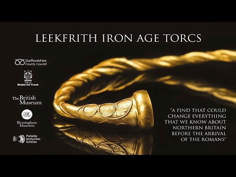 Staffordshire Strikes Gold With Iron Age Find
