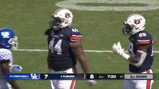 <b>Auburn Football</b> vs Kentucky Highlights