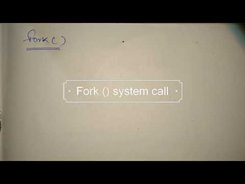 fork system call