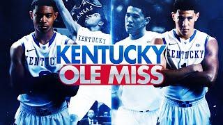 Kentucky Wildcats TV: Kentucky 89 Ole Miss 86