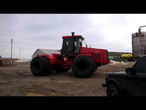 Установка спаренных колес на к-744р3 - YouTube