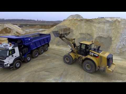 BAS Mining 10x6 with single mounted tires