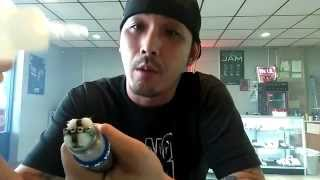 The Sushi Roll wicking. Scottish Roll hype? Japanese wicking v2