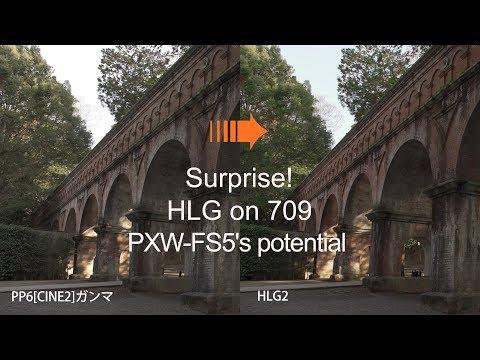 HLGの709のHDR感が凄い 過去素材と混在編集もOK PXW-FS5 Ufer! VLOG_207