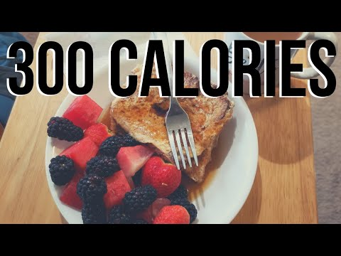 4 Low Calorie Breakfasts Under 300 Calories Or Close To It **Quick and Easy**