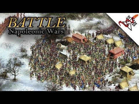 Cossacks 2: Napoleonic Wars - WINTER FIGHT   Battle  [VERY HARD/1080p/HD]  