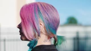 Цветные волосы на один день: тест польской краски Venita OneDayColor
