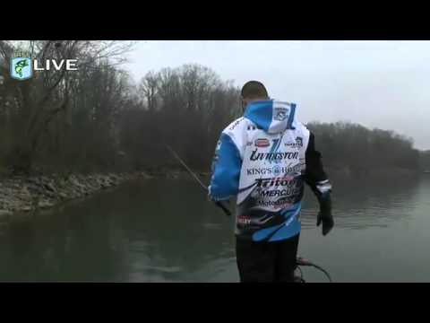 Kevin VanDam Live on the final day - Bassmaster Classic