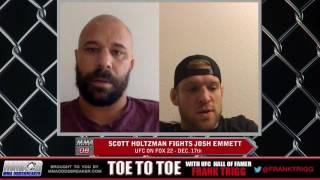 Frank Trigg Interviews UFC on FOX 22's Scott Holtzman