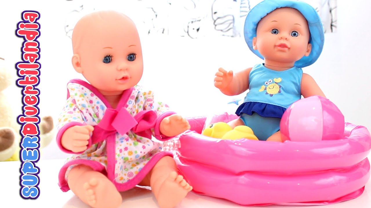 Baño Pequeno Con Banera:Baby Doll Sets