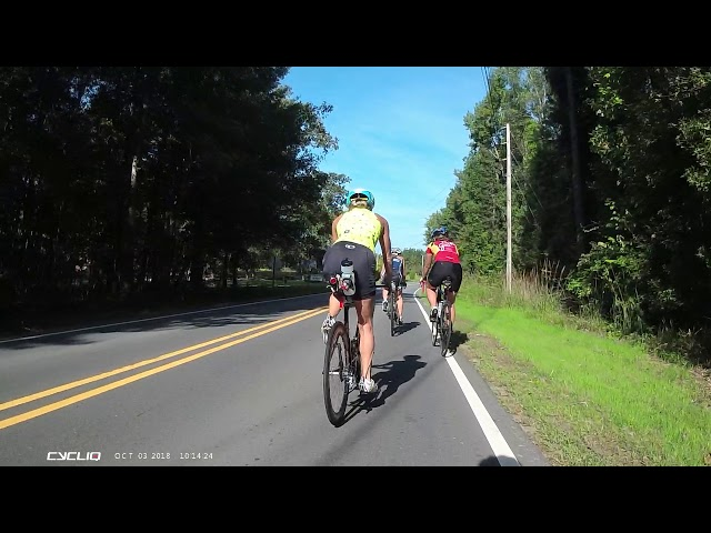 The Terrifying Moment A Deer Hit By Car Flew Toward Cyclists