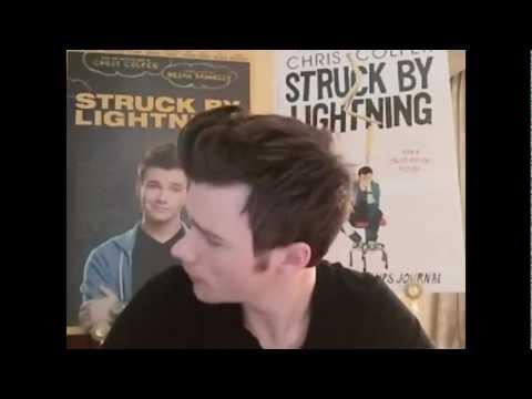 Darren Criss Analysis of Chris Colfer's SBL Live Stream
