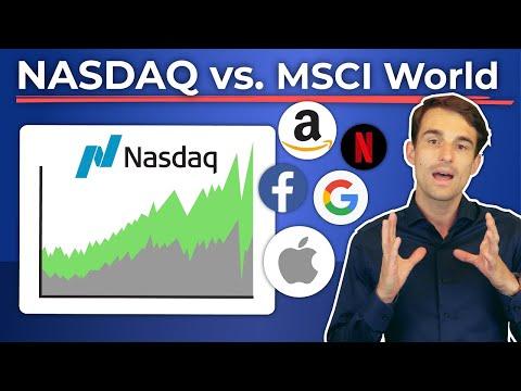 NASDAQ outperformt MSCI World seit 5 Jahren: Lieber in den NASDAQ investieren?   Finanzfluss
