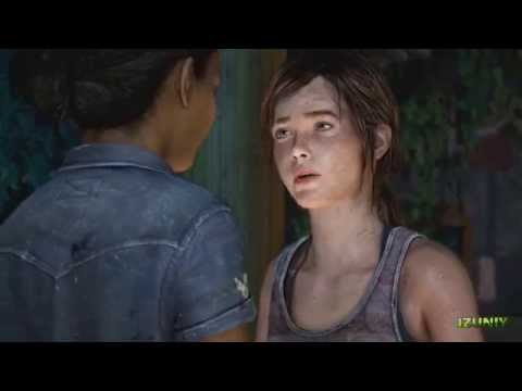Ellie and Riley Kiss Scene - The Last of Us: Left Behind