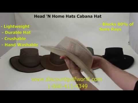 16f13149 Head 'N Home Hats Cabana Hat   Discount Golf World