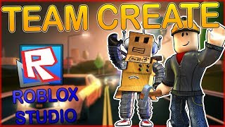 COMMENT EDIT A MAP WITH VOTRE FRIEND IN ROBLOX 🔨!!! (CRÉATION D'ÉQUIPE)