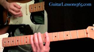 Ozzy Osbourne - Bark At The Moon Guitar Lesson Pt.2 - Main Solo & Outro Solo
