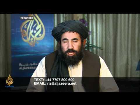 Riz Khan - Lasting peace in Afghanistan?