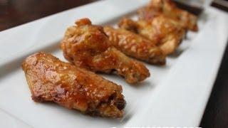 Sweetened Wasabi Chicken Wings