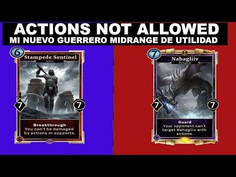 [ESL] Actions not allowed Mi mazo de guerrero de utilidades full criaturas