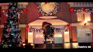 [hd] Cars Land Holiday Decoration 2013 - Disney California Adventure - Disneyland