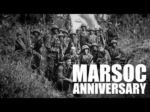MARSOC: 10 Year Anniversary