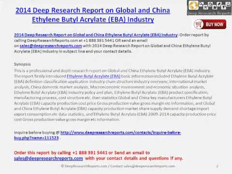 Chinese & Global  EBA Market Analysis