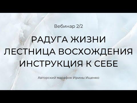 Вебинар Ирины Ищенко. Тонкие тела и энергетические центры человека.  Запись Instagram 04.09.19