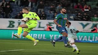 Çaykur Rizespor 1 - 2 Medipol Başakşehir | Lider Dolu Dizgin!