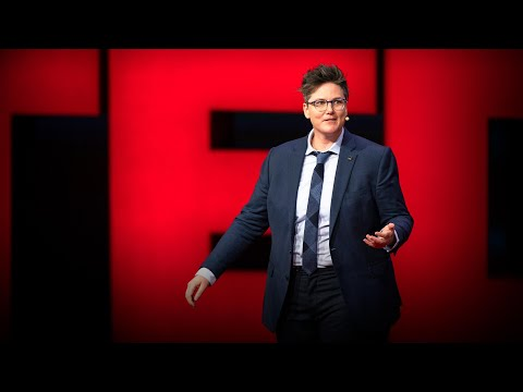 Three ideas. Three contradictions. Or not. | Hannah Gadsby
