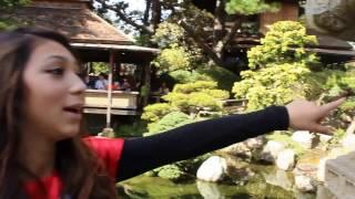 Lets Walk Japanese Tea Garden San Francisco, California October 2016 USA