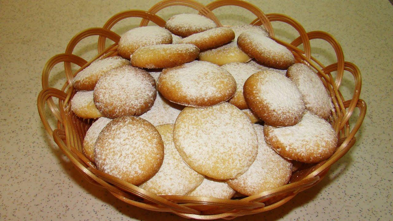 печенье песочное домашнее посыпанное сверху сахором рецепт фото