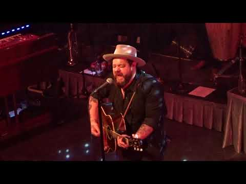 Nathaniel Rateliff - Atlantic City (first time live!!), live at Paradiso Amsterdam, 5 April 2018