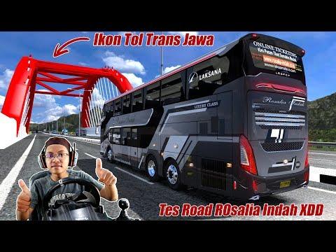 Rosalia Indah XDD tes Road Trans Jawa