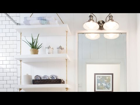 DIY Rope Shelf by Amber Interiors