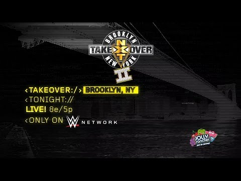 Watch NXT TakeOver: Brooklyn II tonight, only on WWE Network