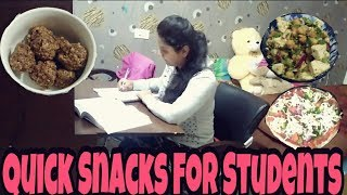 Healthy Snacks For Students||Quick||Easy||2 minutes