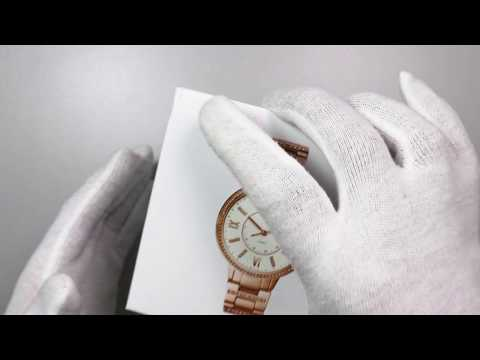 Unboxing A Fossil Ladies Hybrid Smartwatch FTW5010P