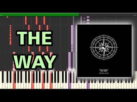 The Way - Zack Hemsey   Synthesia Piano Tutorial