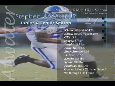Steve Atwater Jr. Football Highlights