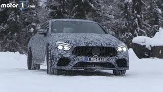 2019 Mercedes AMG GT Coupe Spy Video