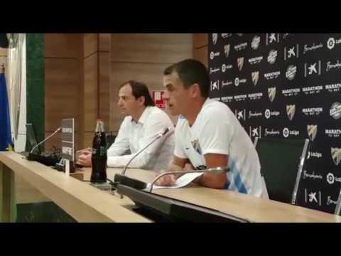Duda se despide del Málaga CF
