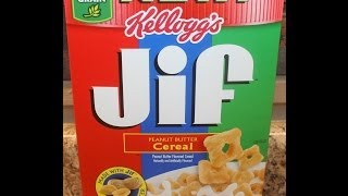 Jif Peanut Butter Cereal Review