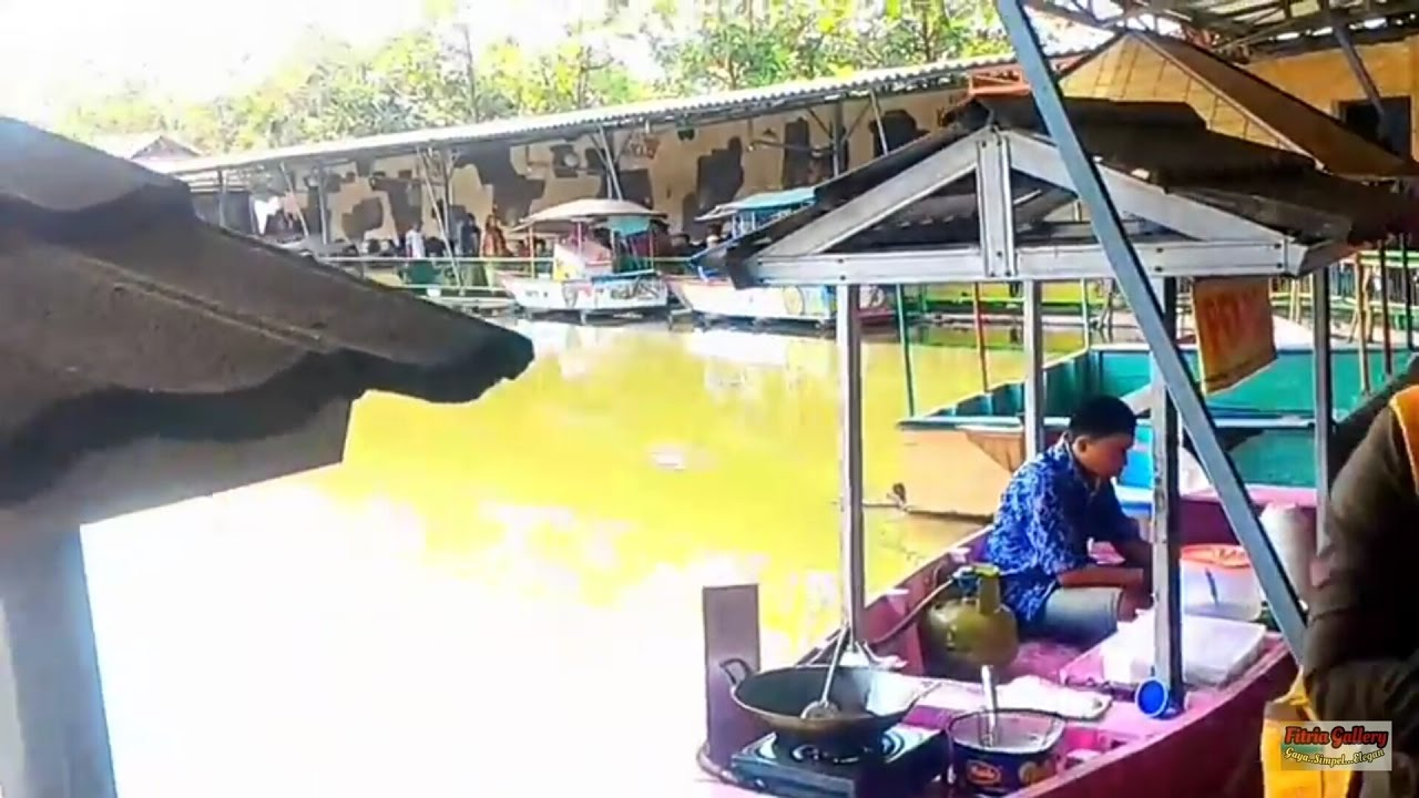 Floating Market Villa Kancil Di Majalaya Bandung Youtube