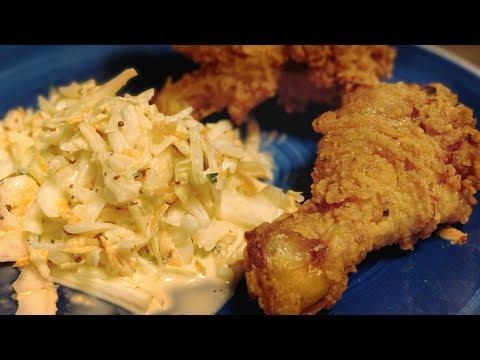 Fried Chicken Wie Bei KFC Selbstgemacht / Frittiertes Hühnchen Mit Würziger Panade Rezept