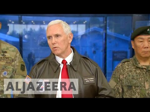 Thumbnail: Pence warns North Korea 'era of strategic patience is over'