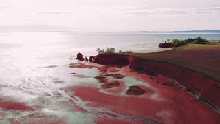 Annapolis Valley, Nova Scotia - Drone
