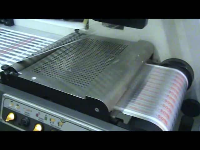Лазерная высечка этикеток в типографии Цифровая Этикетка
