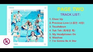 [MINI ALBUM] TWICE 트와이스 - 'Page Two' Second mini album tracklist